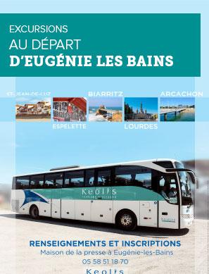 Excursions au départ d'Eugénie Les Bains