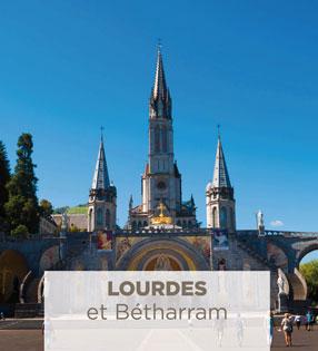 excursion en autocar à Lourdes et Bétharram
